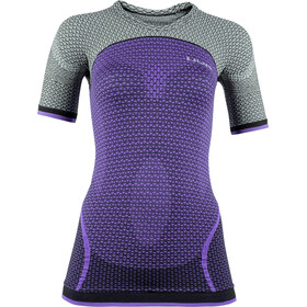 UYN Running Alpha OW Blouse korte mouwen Dames, bright lilac/sleet grey